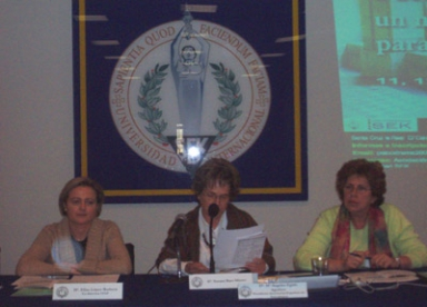 Irene Henche, Susana Baer y Angeles Egido
